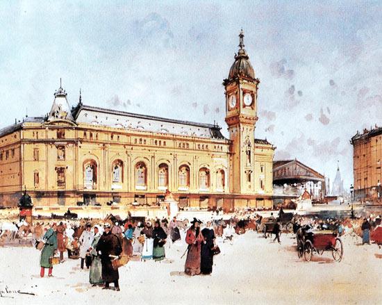 Galien-Laloue - Les gares