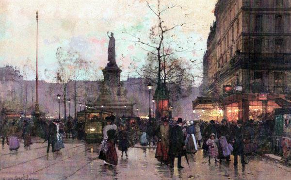 Galien-Laloue peint La République