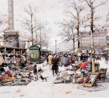 Galien-Laloue peint La Bastille