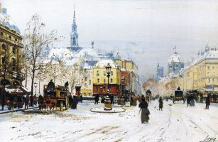 Eugene Galien Laloue and his paintings
